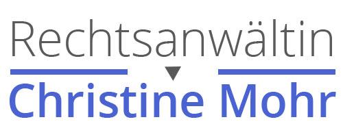 Rechtsanwältin Christine Mohr